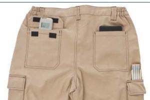 JRC Pantaloni gadget promozionali personalizzabili