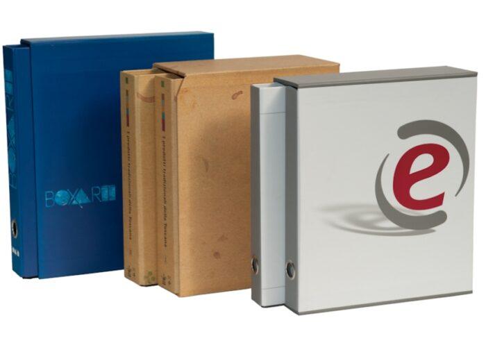 box raccoglitori personalizzati