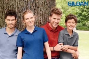 Gildan Polo abbigliamento promozionale personalizzabile