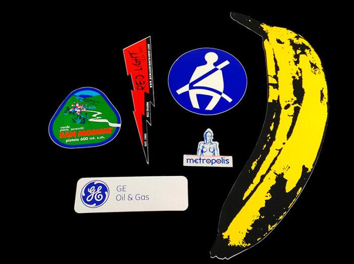 Adesivi fustellati personalizzati