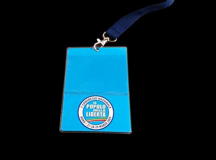 Porta Badge personalizzabile