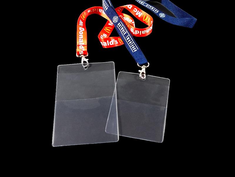 Busta Porta Badge doppia tasca personalizzata